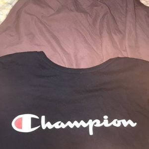 Champion shirt size s & medium
